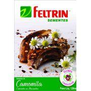Sementes de Camomila ou Maçanilha - Feltrin Flores Comestíveis