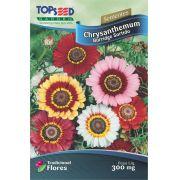 Sementes de Chrysanthemum Burridge Sortidas - Topseed Linha Tradicional Flores