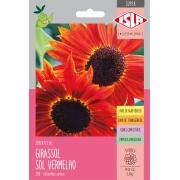 Sementes de Girassol Sol Vermelho 2,40g - Isla Superpak