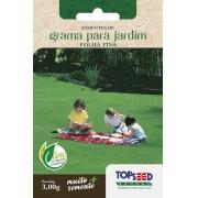 Sementes de Grama Para Jardim Folha Fina 3g - Topseed Linha Tradicional
