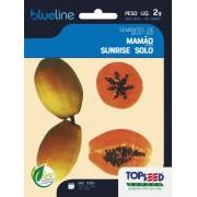 Sementes de Mamão Sunrise Solo 2g - Topseed Blue Line