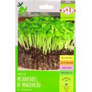 Sementes de Manjericão Basilicão Microverdes 1g - Isla Superpak