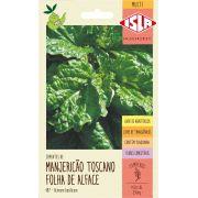 Sementes de Manjericão Toscano Folha de Alface 250mg - Isla Multi