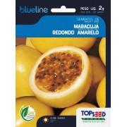 Sementes de Maracujá Redondo Amarelo 2g - Topseed Blue Line