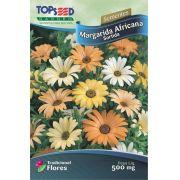 Sementes de Margarida Africana Sortida 500mg - Topseed Linha Tradicional Flores