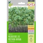Sementes de Mostarda Lisa Nayana Microverdes 6g - Isla Superpak