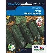 Sementes de Pepino Híbrido Imperial F1 3g - Topseed Blue Line Gourmet