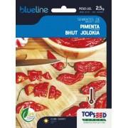 Sementes de Pimenta Bhut Jolokia 2,5g - Topseed Blue Line