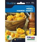 Sementes de Pimenta Habanero Amarela 2,5g - Topseed Blue Line