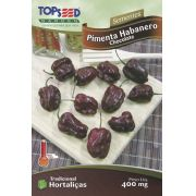 Sementes de Pimenta Habanero Chocolate - Topseed