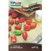 Sementes de Pimenta Habanero Red - Topseed