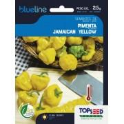 Sementes de Pimenta Jamaican Yellow 2,5g - Topseed Blue Line