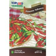 Sementes de Pimenta Tabasco - Topseed Linha Tradicional