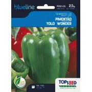 Sementes de Pimentão Yolo Wonder 2,5g - Topseed Blue Line