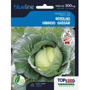 Sementes de Repolho Híbrido Gassan 500mg - Topseed Blue Line Gourmet