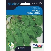Sementes de Rúcula Folha Larga 10g- Topseed Blue Line