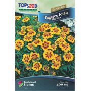Sementes de Tagetes Anão Marieta 400mg - Topseed Linha Tradicional Flores