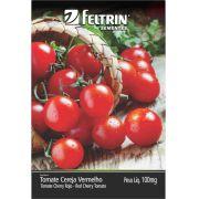 Sementes de Tomate Cereja Vermelho Yubi 100mg - Feltrin Linha Econômica