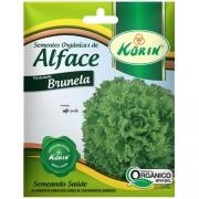Sementes Orgânicas de Alface Brunela 0,05g - Korin