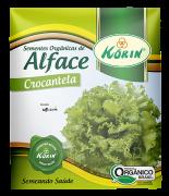 Sementes Orgânicas de Alface Crocantela 0,25g - Korin