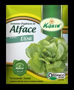 Sementes Orgânicas de Alface Elisa 0,05g - Korin
