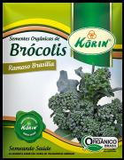 Sementes Orgânicas de Brócolis Ramoso Brasília 0,8g - Korin