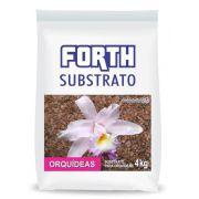 Substrato para orquídeas Forth 4kg - Fibra de coco, casca de pinus e carvão vegetal