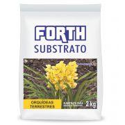 Substrato para orquídeas terrestres Forth 2kg