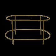 Suporte Cumbuca Jardineira Bronze Alto Coleção Cumbuca por Rosenbaum e o Fetiche