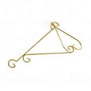 Suporte de Parede Luxo Médio 30cm Dourado