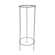 Suporte Preto para Vaso de Chão 66cm x 22cm - 6078