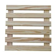 Treliça de madeira 60cm x 60cm para jardim vertical