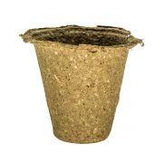 Vaso Biodegradável para plantio de sementes 9,5cm x 9,5cm