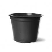 Vaso de Planta Holambra NP 14 Preto