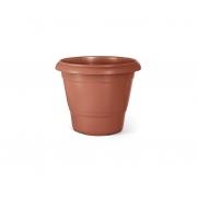 Vaso Redondo Terracota 03 Cor Cerâmica