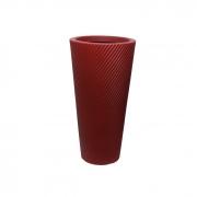 Vaso Vite Pilão Vogue cor Vermelho Colonial 40cm x 20cm - PVP1-VC