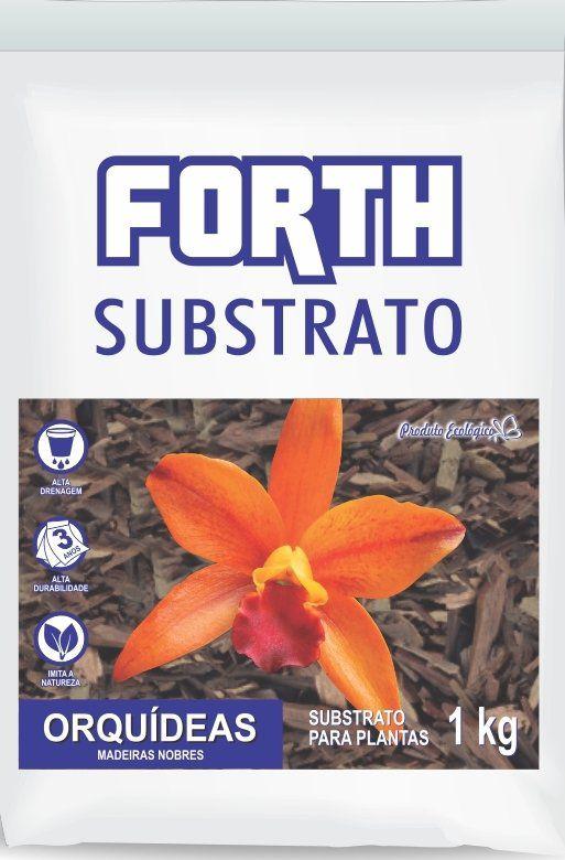 Substrato para orquídeas Forth 1kg - Madeiras Nobres