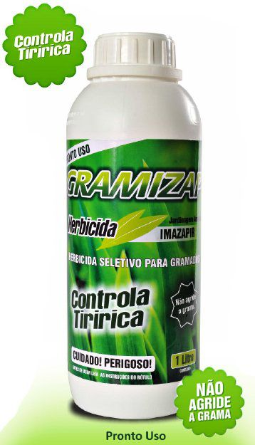 Gramizap Herbicida Imazapir - Mata tiririca - 1 litro pronto para uso