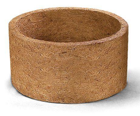 Vaso de fibra de coco Nutricoco 04 (13 cm altura x 25,5 diâmetro)