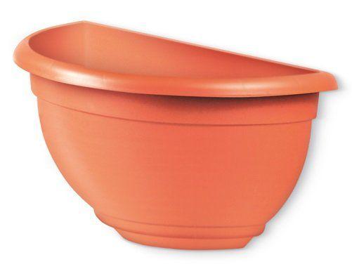 Vaso de parede médio - cor cerâmica