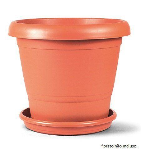 Vaso Terracota 02 (25 cm altura x 30 cm largura) - cor cerâmica