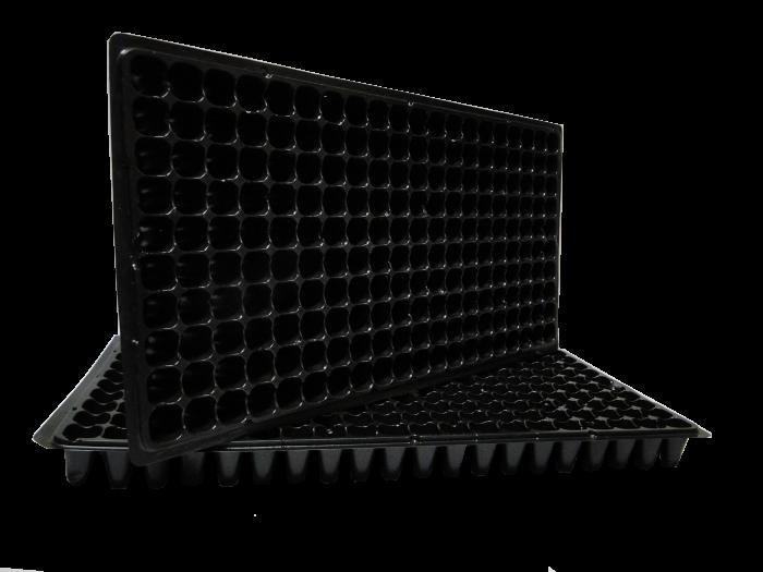 Kit com 10 Bandejas para mudas - 200 células - espessura 0,70mm