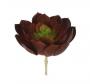 Suculenta artificial Verde e Vermelho 20cm - 35150002
