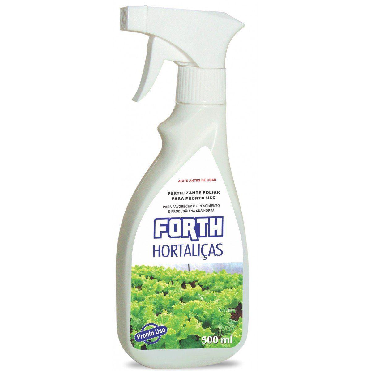 Forth Hortaliças 500ml pronto para uso