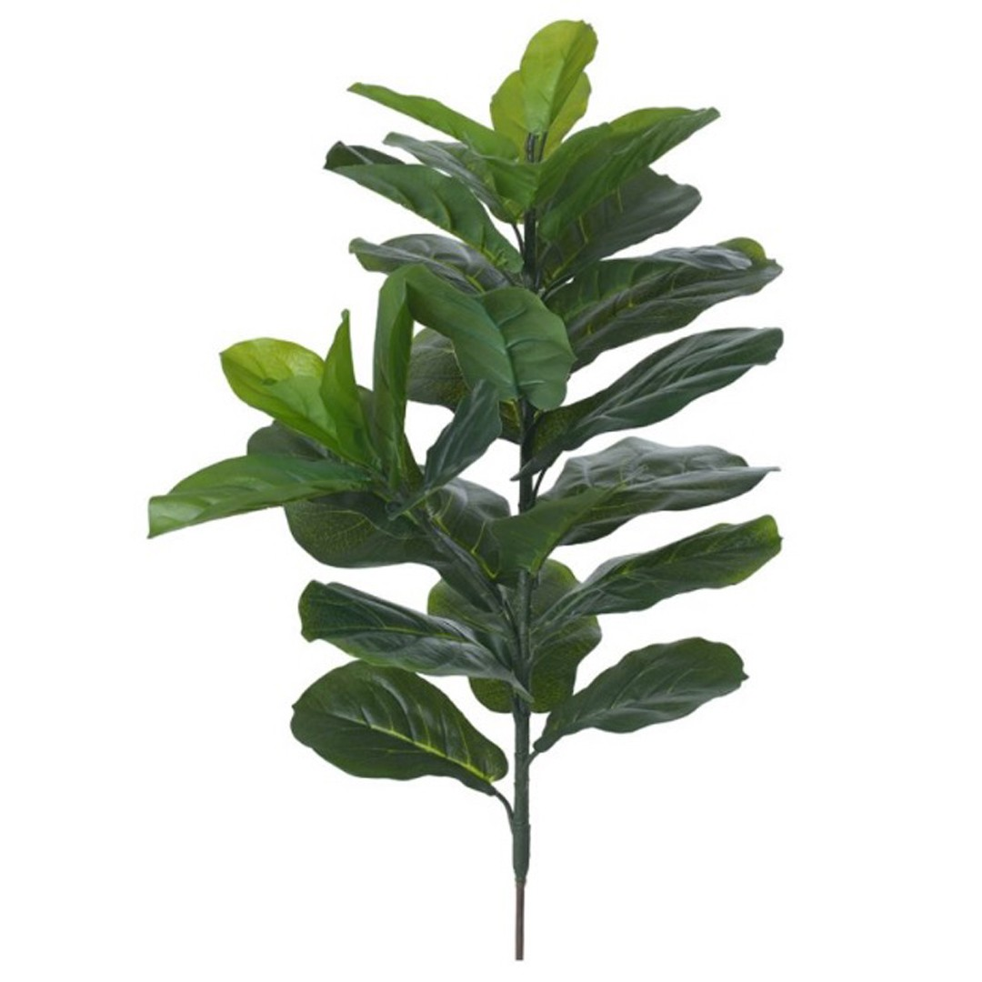 Árvore Ficus Lyrata Pata de Vaca Artificial X29 Verde 70cm - 41034001