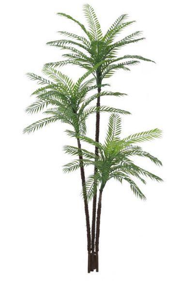 Árvore Palmeira artificial Verde PLT X48 1,45m - 24566001