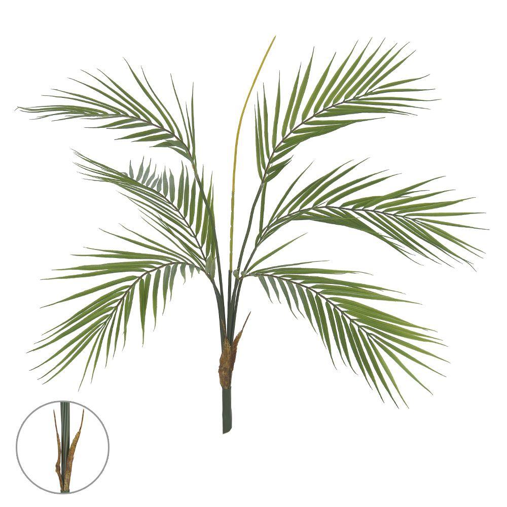 Árvore Palmeira artificial Verde PLT X6 70cm - 41771001