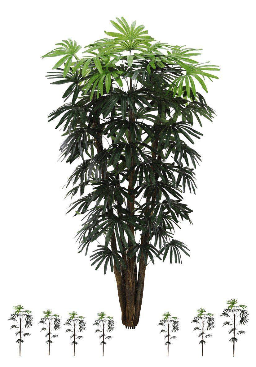 Árvore Palmeira Raphis artificial X68 Verde 1,5m - 29575001
