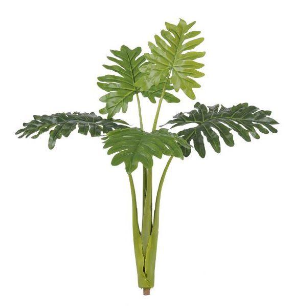 Árvore Philo Xanadu artificial Real Toque X5 70cm Verde - 39279001