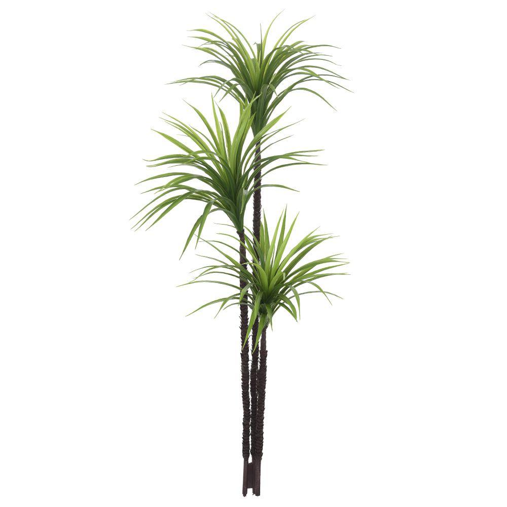 Árvore Yucca artificial Verde PLT X132 1,45m - 31831001